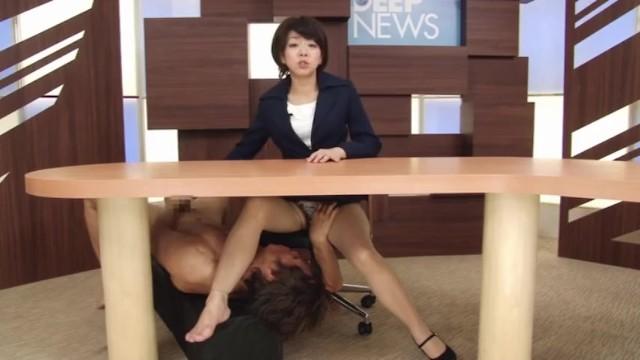 【女子アナ淫語】四十路の女子アナ熟女の淫語プレイがエロい!!