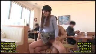 【エロ動画】巨乳のアイドル美少女、三上悠亜の露出セックス痴漢プレイエロ動画。