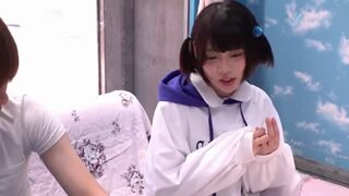 【美少女 昇天イラマチオ】ショートカットでHなロリの女の子素人の、昇天イラマチオイマラチオプレイが、マジックミラー号で!【エロ動画】