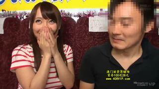 スレンダーな巨乳の痴女お姉さん、倉多まおの乳首舐め手コキフェラ無料エロ動画!【パイズリ動画】