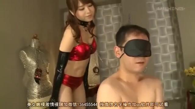 【風俗】淫乱な巨乳の痴女お姉さん、吉沢明歩のM男コスプレ凌辱無料H動画。【調教動画】