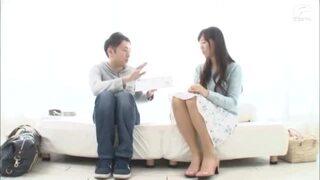 【童貞】欲求不満スレンダー美人な素人人妻の、モニタリング羞恥無料エロ動画!【素人、人妻動画】