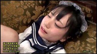 ロリのメイド美少女の、即ハメ寝取られコスプレ無料エロ動画。【メイド、美少女動画】