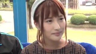 マジックミラー号にて、巨乳の素人美少女の、手コキ素股無料エロ動画!【素人、美少女動画】