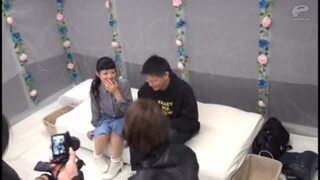 スレンダーな美乳の素人JDの、キスガチハメsex無料動画。【中出し、フェラ動画】