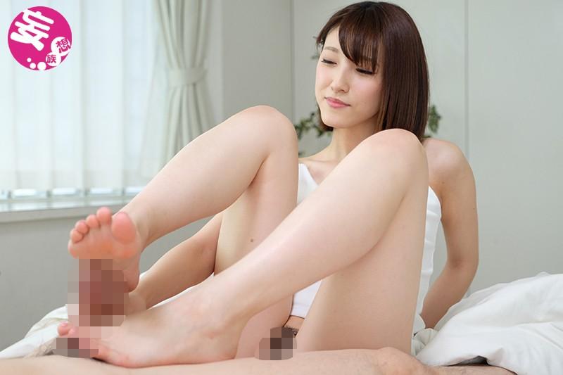 【お姉さん足コキ】美脚のお姉さん痴女の足コキM男主観プレイエロ動画!