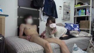 【おっぱい】スレンダー美人な貧乳の痴女美少女の、フェラ無料動画!【痴女、美少女、素人動画】