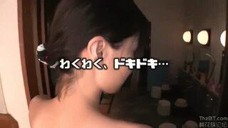【温泉旅行】超乳の、松岡ちなの主観パイズリベロチュー無料動画。【正常位動画】