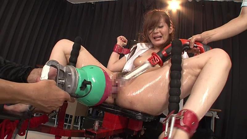 【石原莉奈】スレンダーな女教師女の子、石原莉奈のレイプ拘束奴隷プレイ動画!!