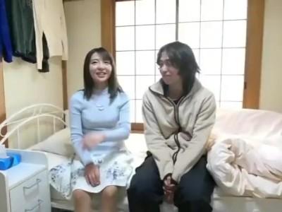 【童貞】美人なお姉さん人妻の、筆下ろしセックスパイズリ無料H動画!【フェラ動画】