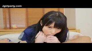 ロリで着衣の美少女JK、坂口みほのの顔射騎乗位主観エロ動画。【坂口みほの動画】