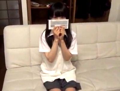 パイパンのJK女子校生の、中出しハメ撮りエロ動画!【JK、女子校生動画】