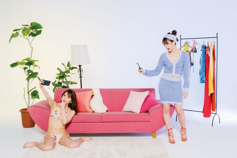 Influencer Ayunoka Nishimuras gravure swimsuit image with over 800000 followers013