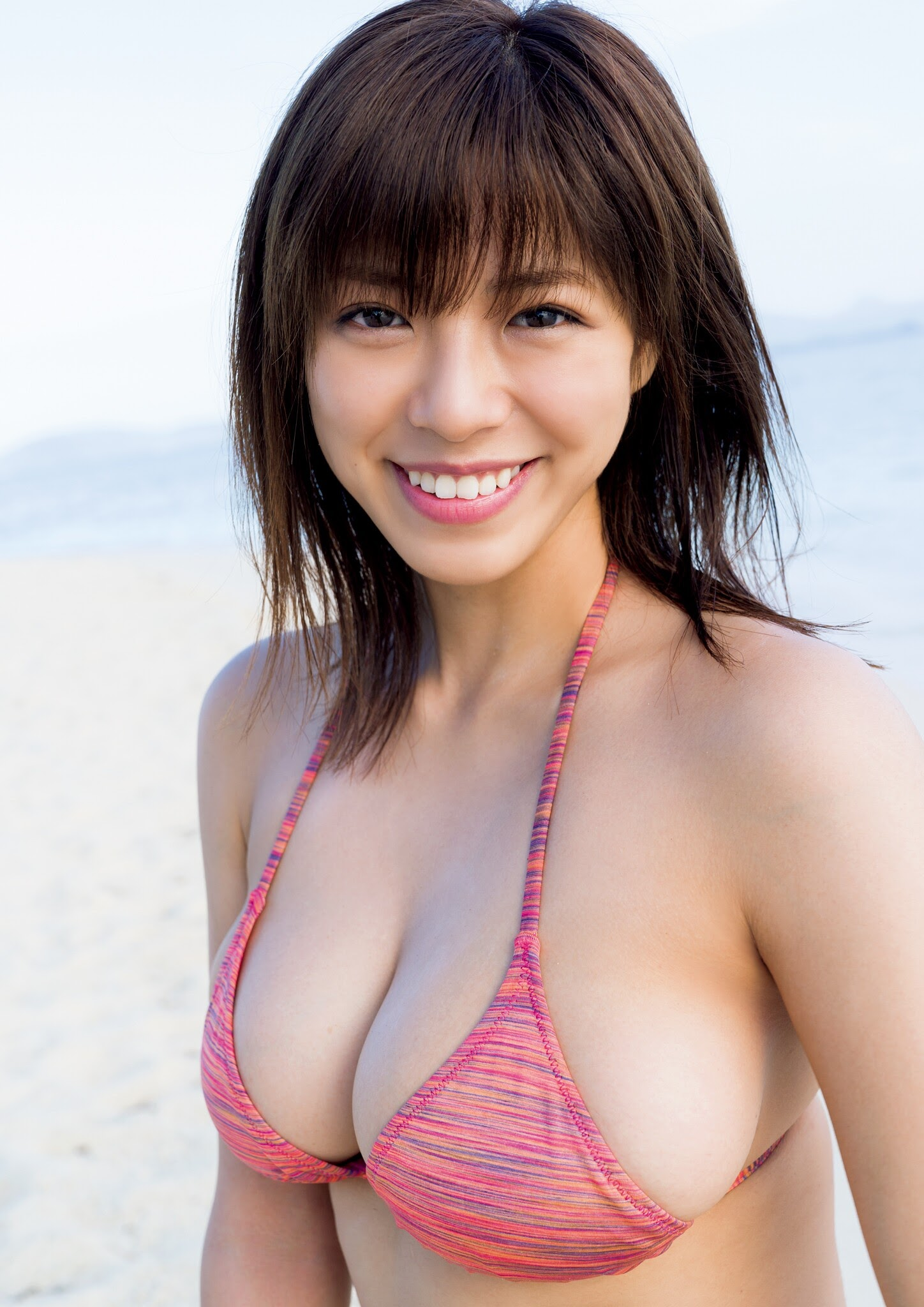 Super body of H cup Minami Wachi 2020 that exposes body and mind in tropical Thailand005