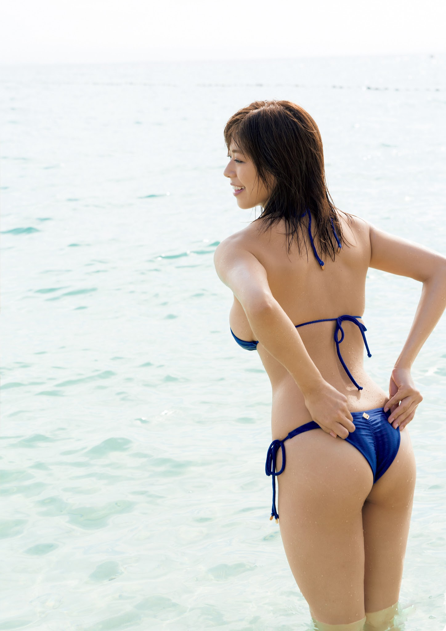 Super body of H cup Minami Wachi 2020 that exposes body and mind in tropical Thailand014