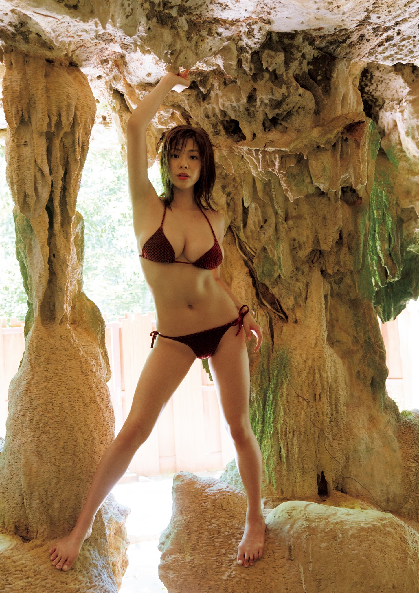 Super body of H cup Minami Wachi 2020 that exposes body and mind in tropical Thailand029