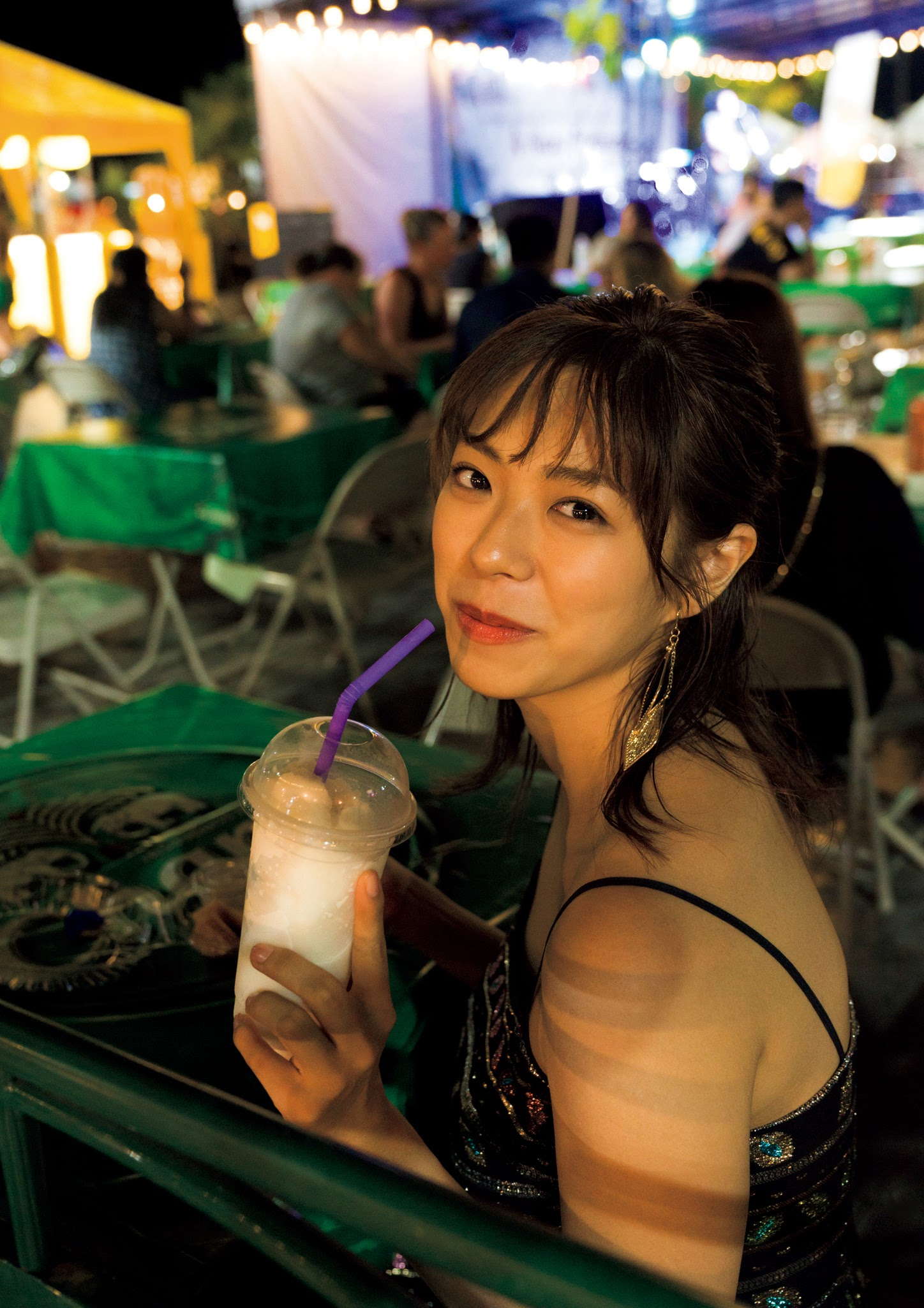 Super body of H cup Minami Wachi 2020 that exposes body and mind in tropical Thailand043