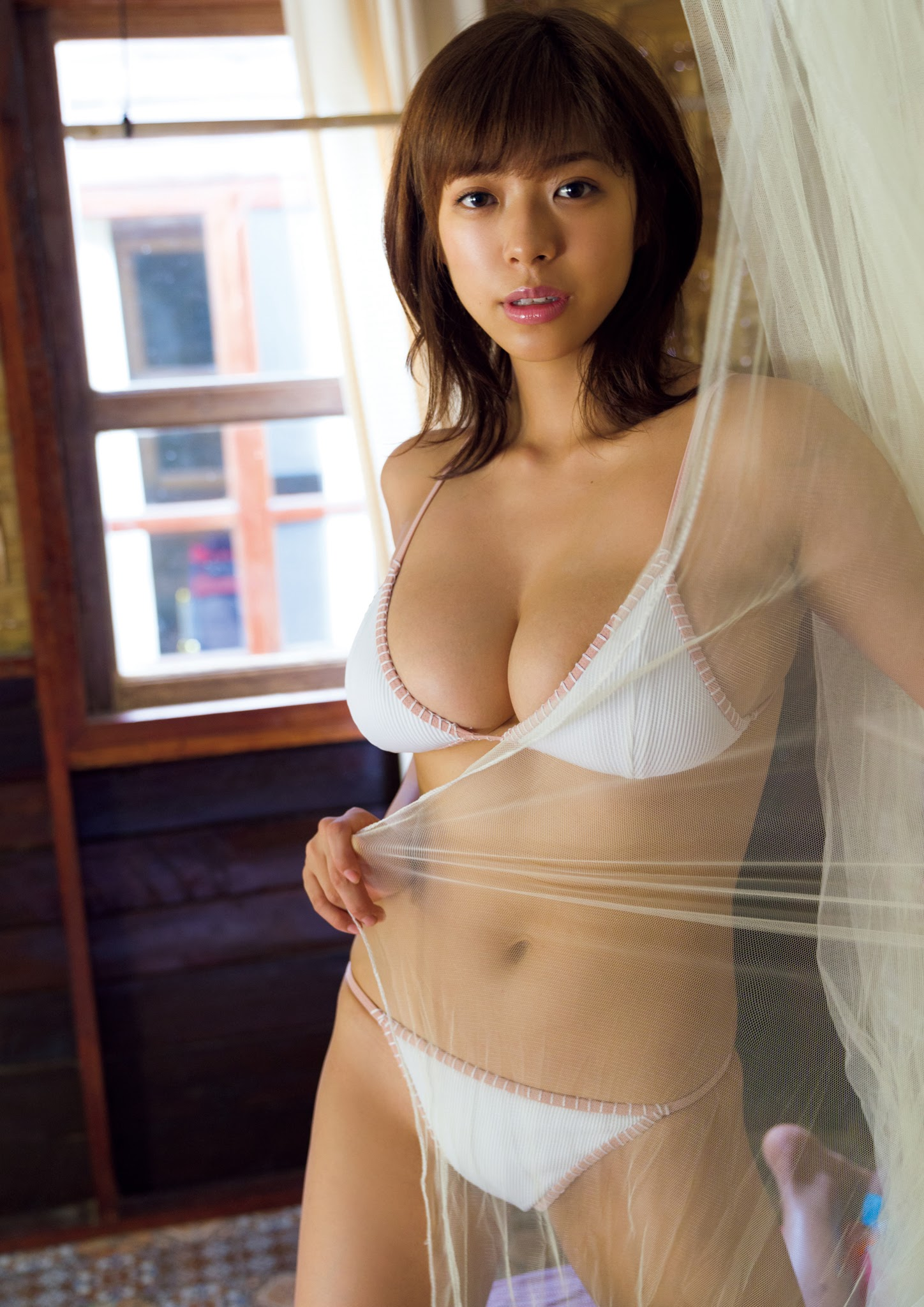 Super body of H cup Minami Wachi 2020 that exposes body and mind in tropical Thailand057