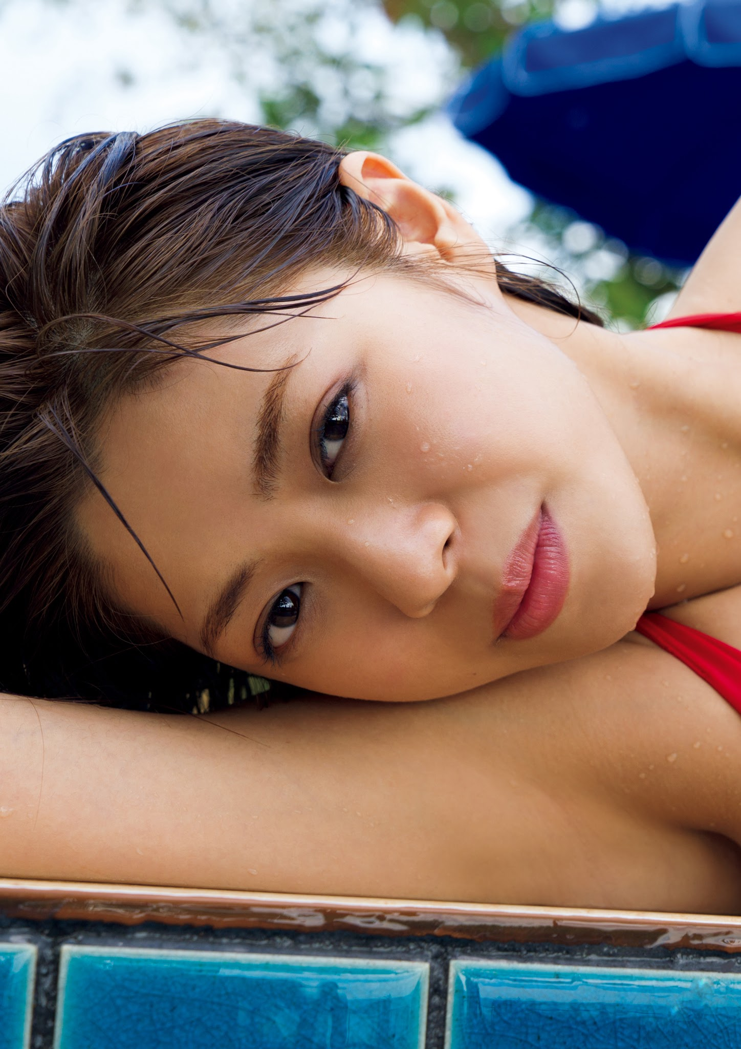 Super body of H cup Minami Wachi 2020 that exposes body and mind in tropical Thailand087