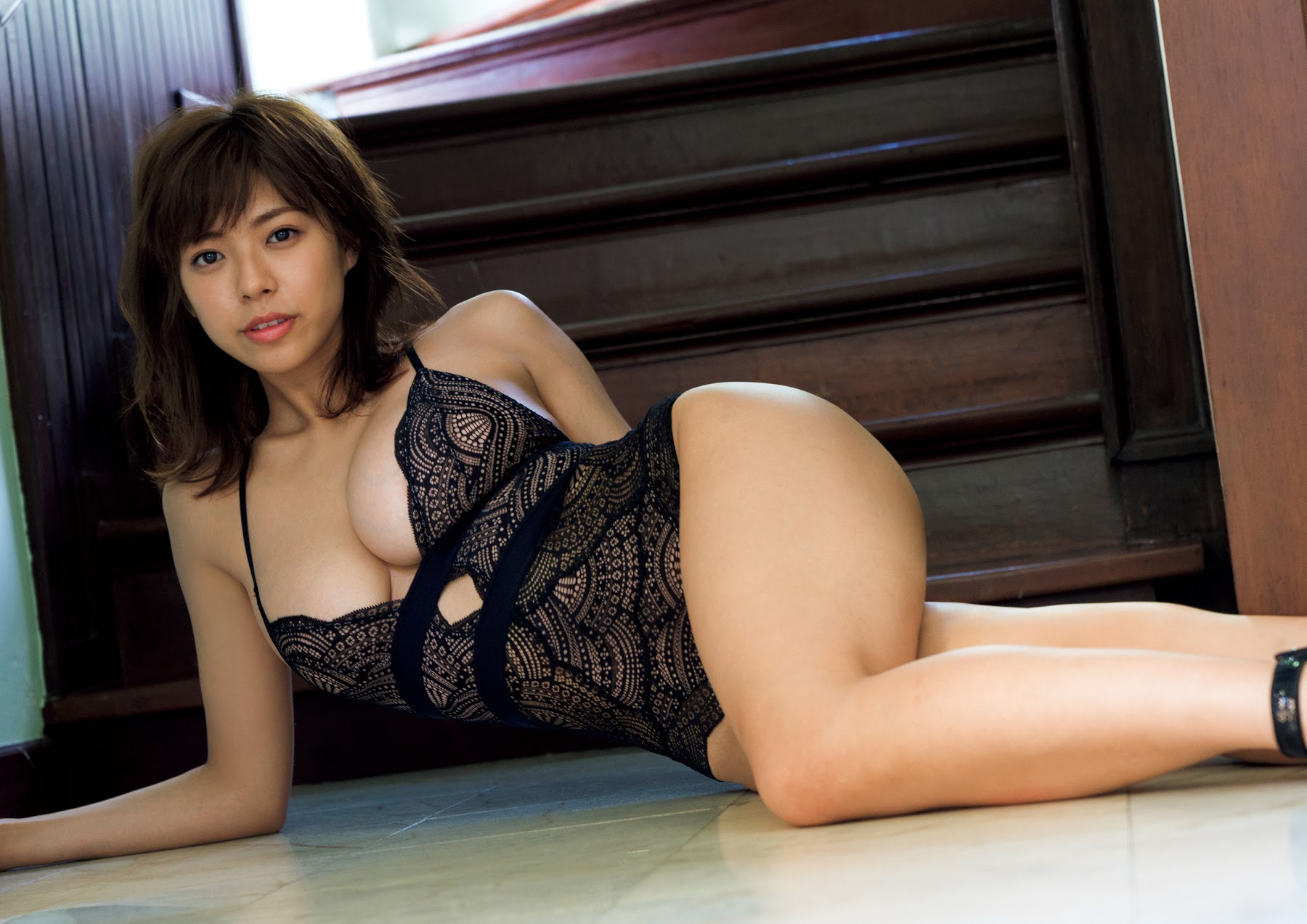 Super body of H cup Minami Wachi 2020 that exposes body and mind in tropical Thailand119