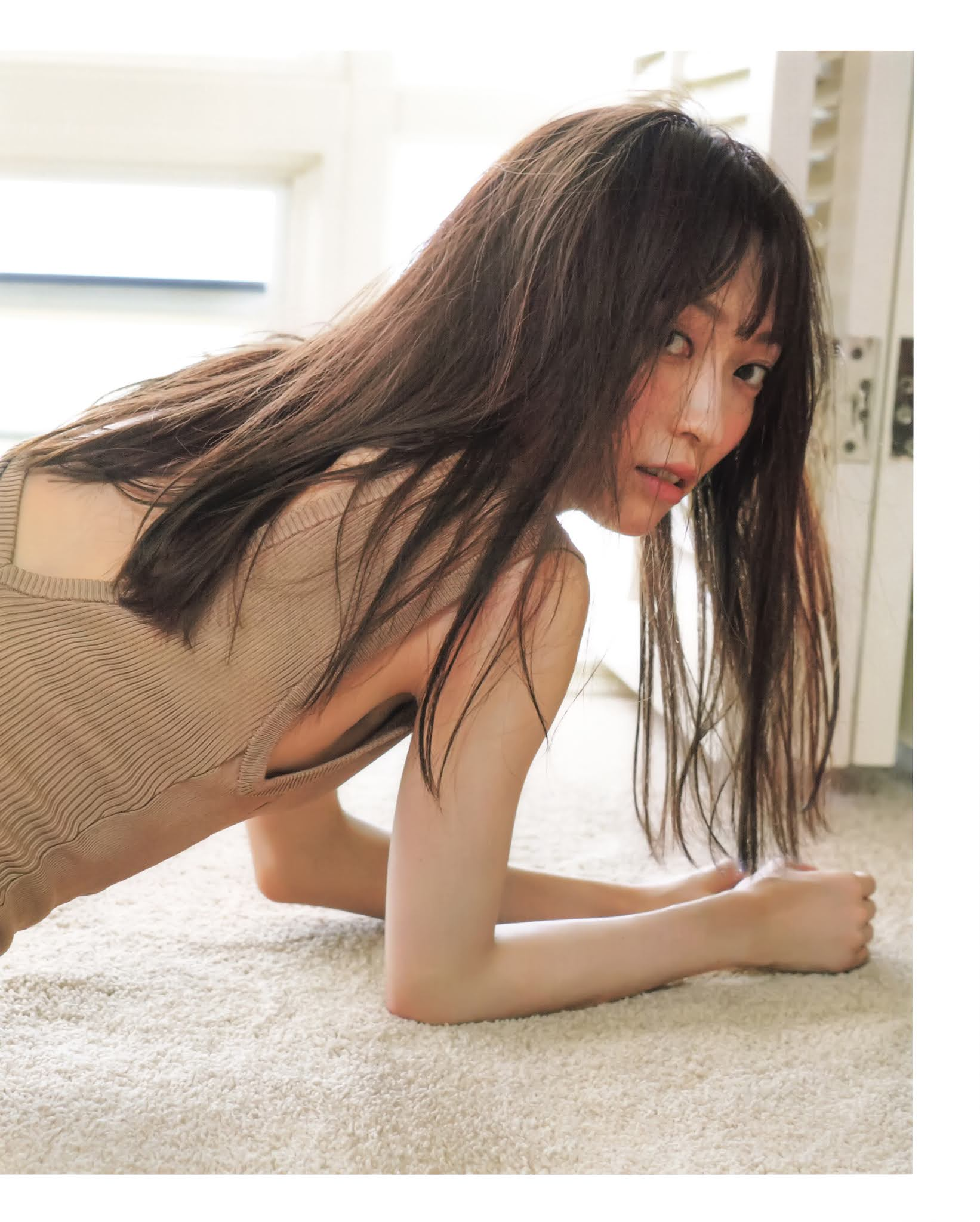 23yearold body fascinated in Hawaii Maho Yamaguchi043