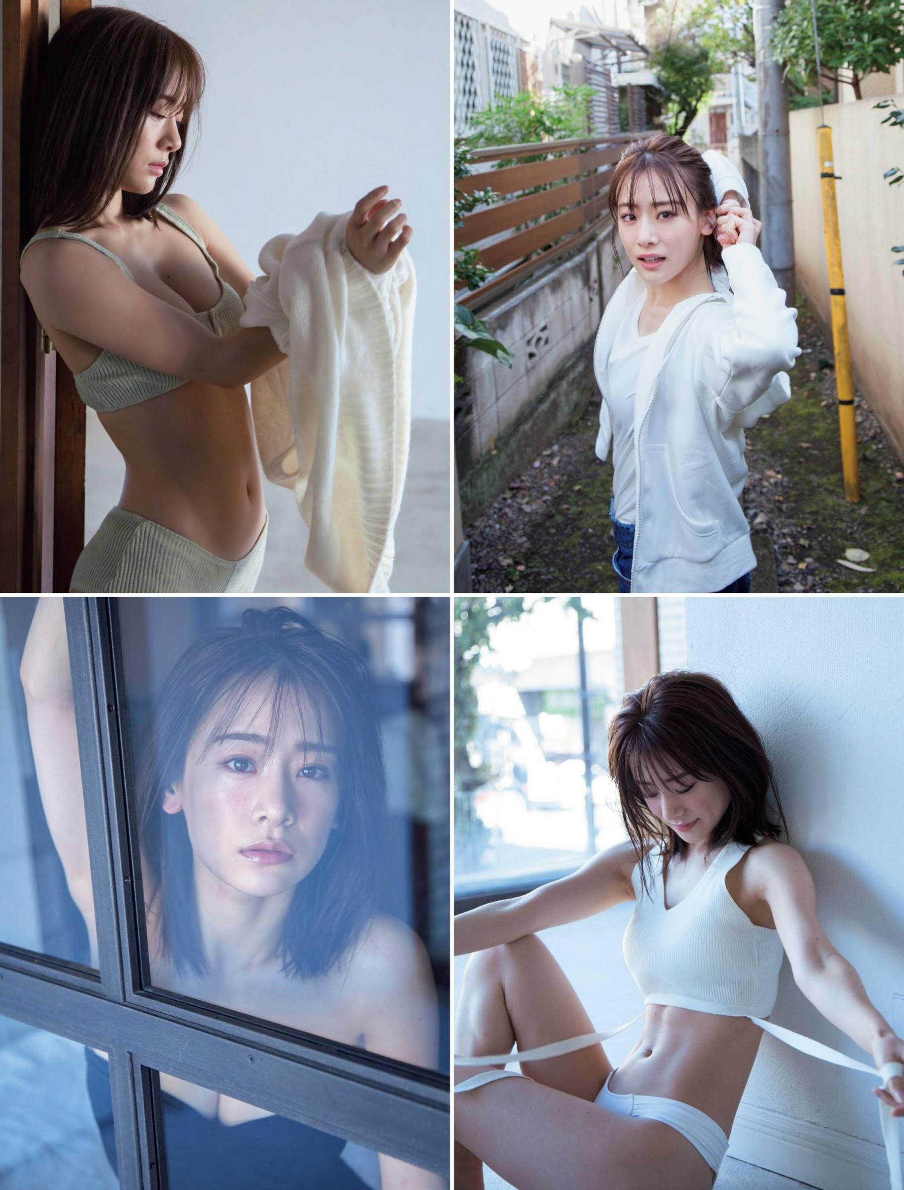 Newcomer in the gravure world who graduated from Tokyo University of Science Minami Fukuoka Swimsuit gravure bikini beauty BODY Rikejo 2020002
