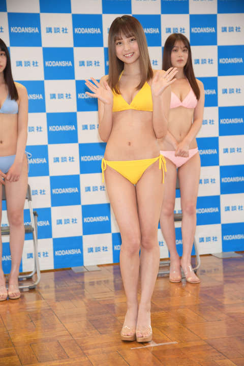Miss Magazine 2020s Best 16 Swimsuit Images at the Announcement006