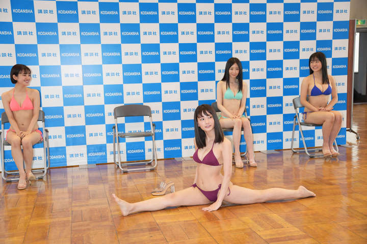 Miss Magazine 2020s Best 16 Swimsuit Images at the Announcement027