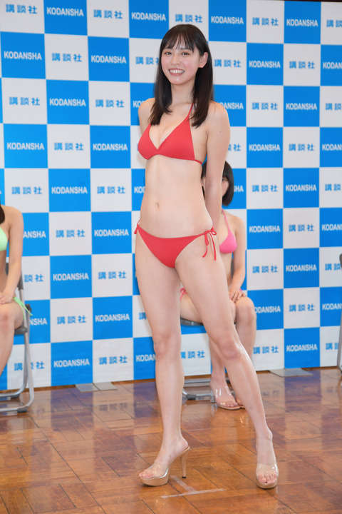 Miss Magazine 2020s Best 16 Swimsuit Images at the Announcement040