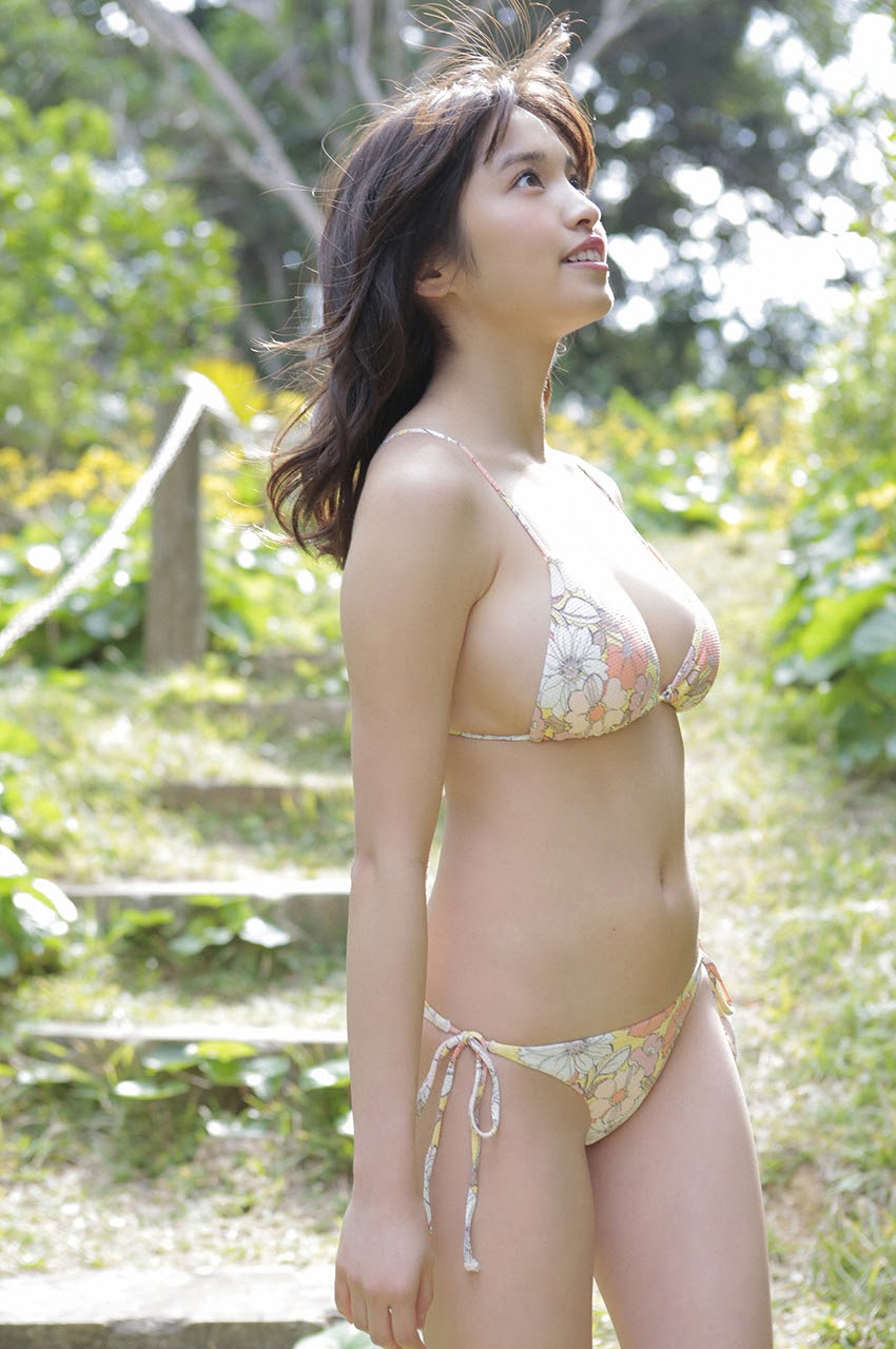 Gravure world treasure BODY Dynamic Miyubai pops up in winter in Okinawa060