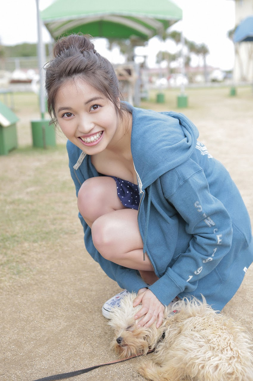 Gravure world treasure BODY Dynamic Miyubai pops up in winter in Okinawa062