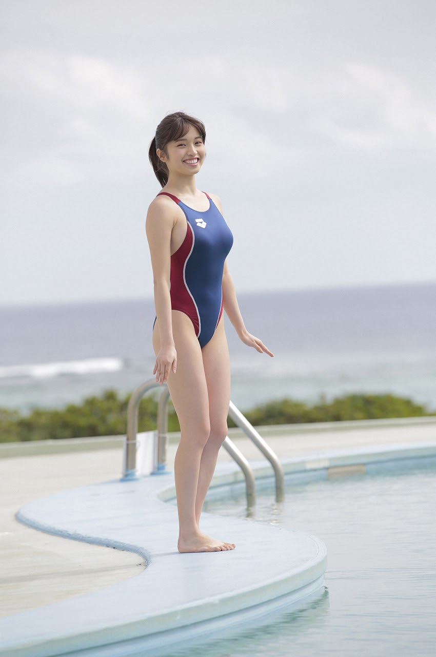 Gravure world treasure BODY Dynamic Miyubai pops up in winter in Okinawa091