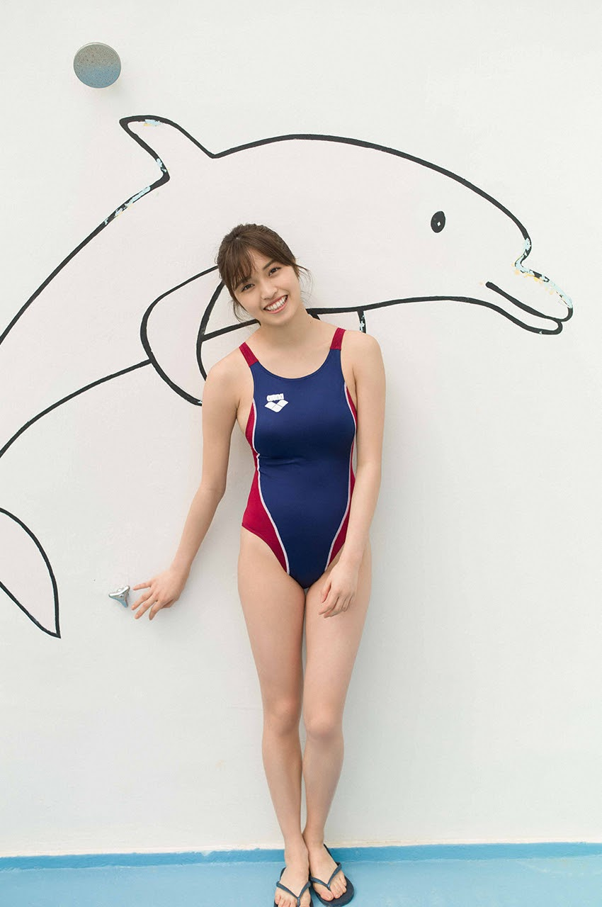 Gravure world treasure BODY Dynamic Miyubai pops up in winter in Okinawa094