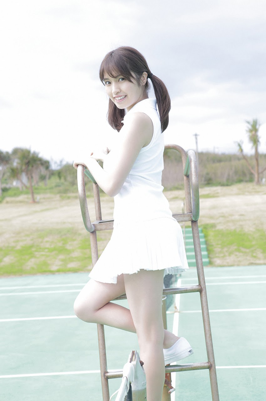 Gravure world treasure BODY Dynamic Miyubai pops up in winter in Okinawa109