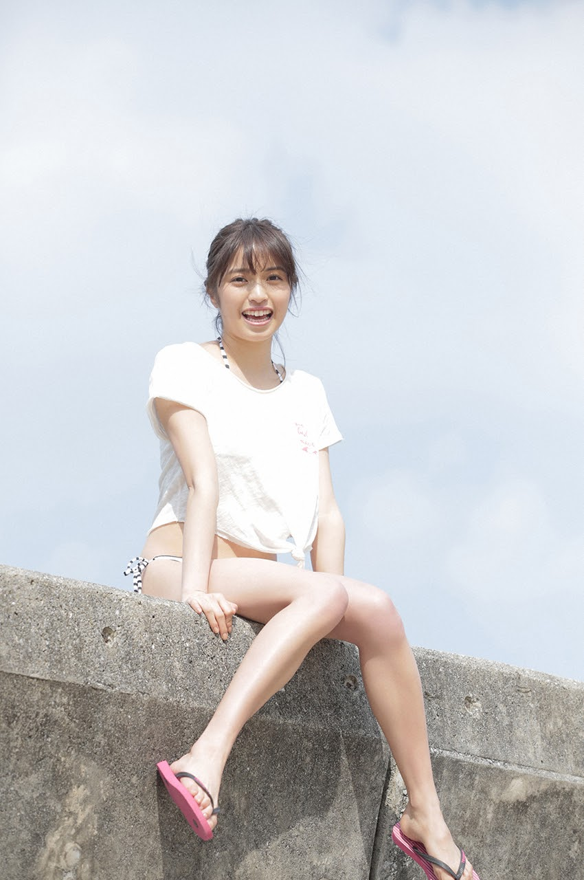 Gravure world treasure BODY Dynamic Miyubai pops up in winter in Okinawa118
