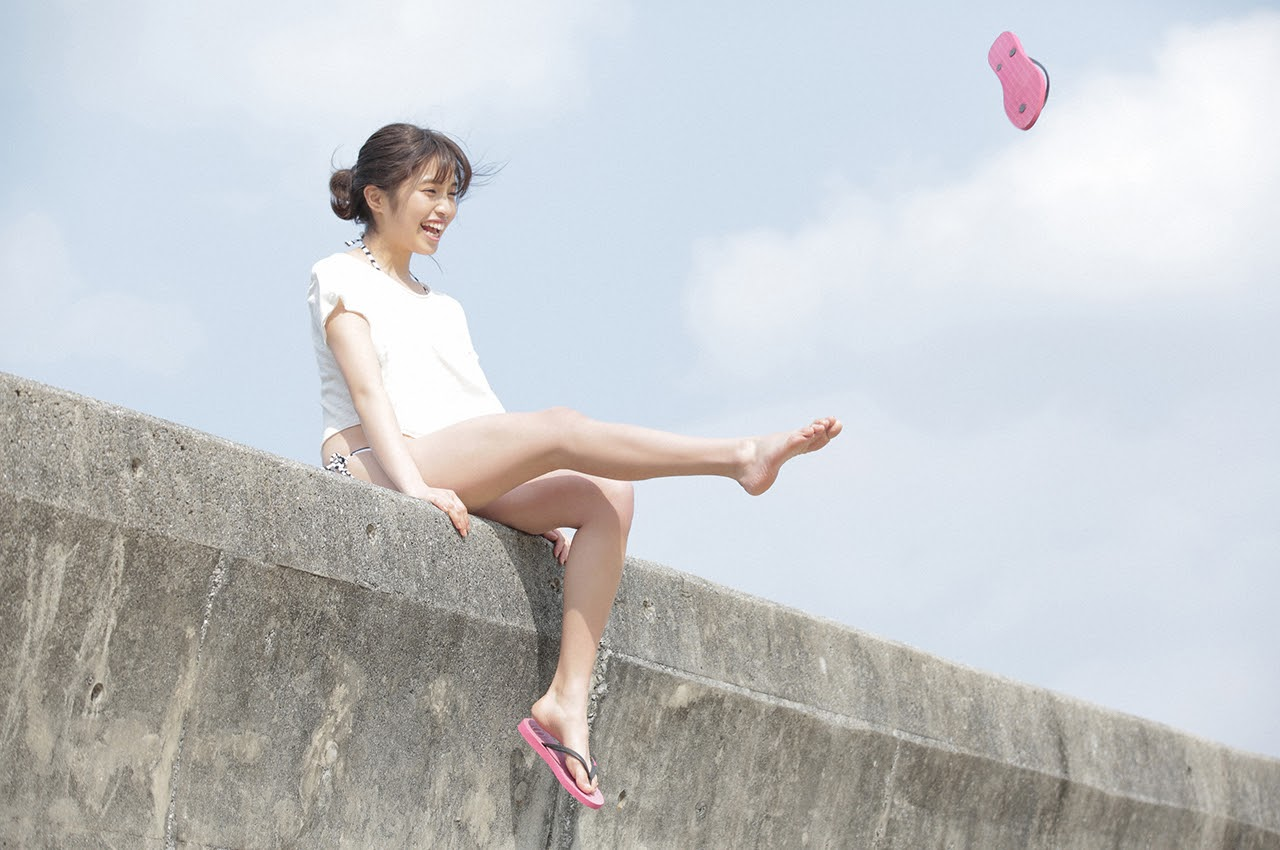 Gravure world treasure BODY Dynamic Miyubai pops up in winter in Okinawa119
