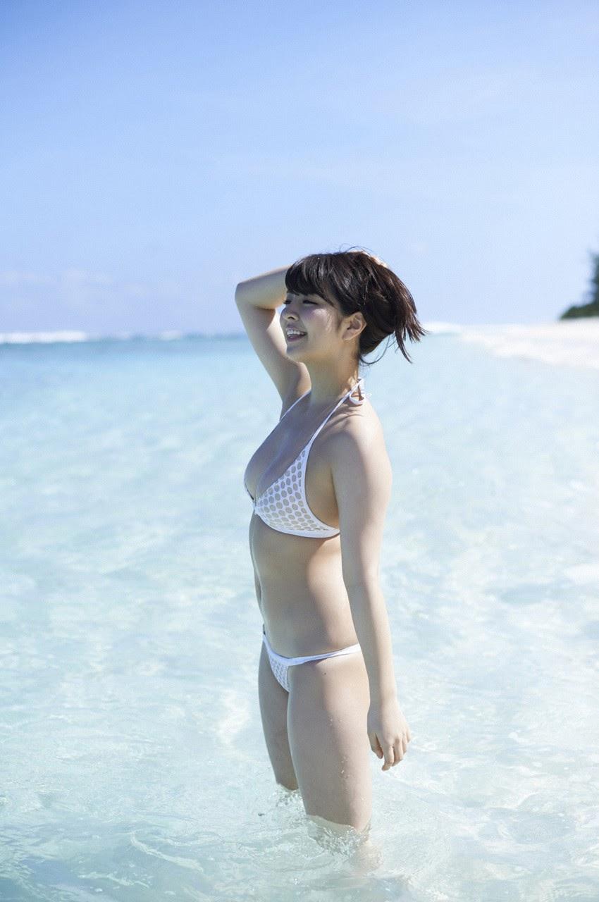 Bikini on a white sandy beach007