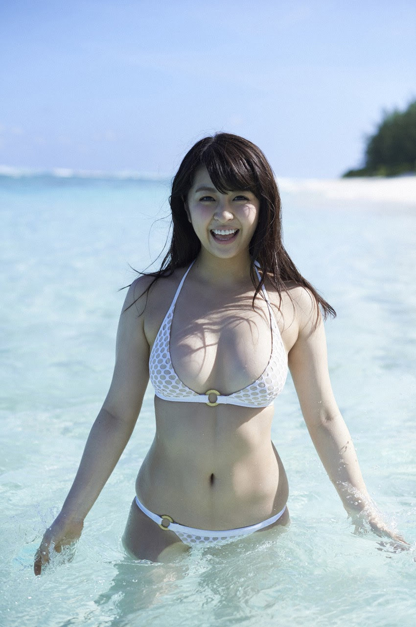 Bikini on a white sandy beach008