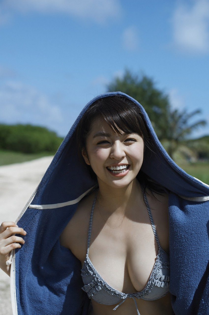 Bikini on a white sandy beach021
