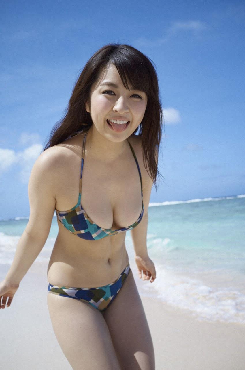 Bikini on a white sandy beach029