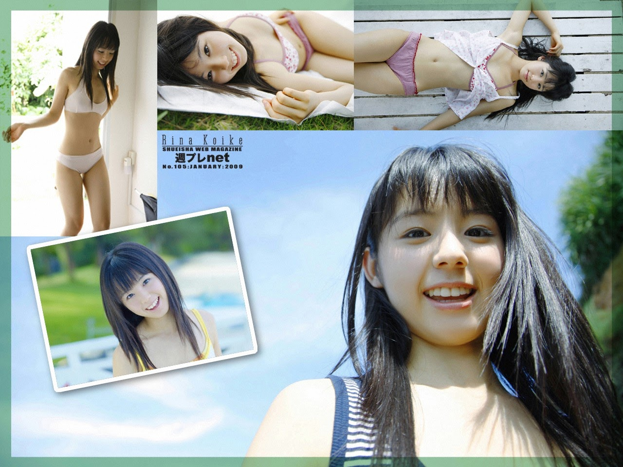 The ultimate beautiful girls angel smile explodes in Okinawa for the first time experience Rina Koike040