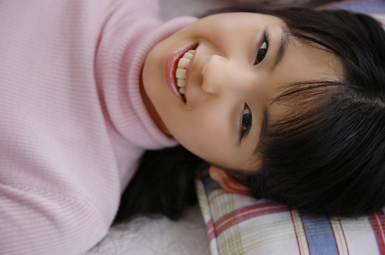The ultimate beautiful girls angel smile explodes in Okinawa for the first time experience Rina Koike085