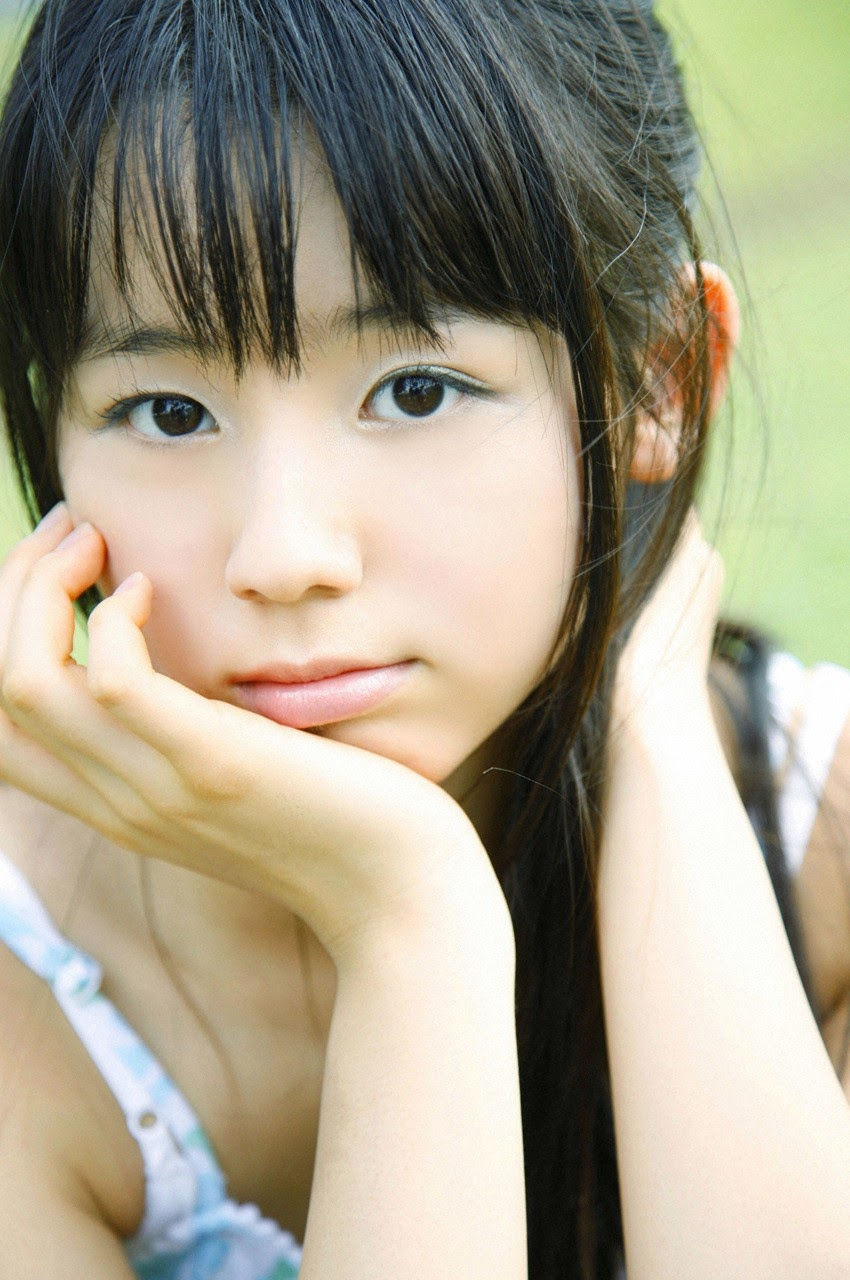 The ultimate beautiful girls angel smile explodes in Okinawa for the first time experience Rina Koike149