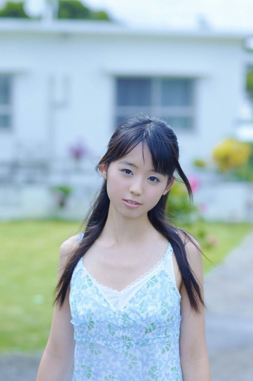 The ultimate beautiful girls angel smile explodes in Okinawa for the first time experience Rina Koike151