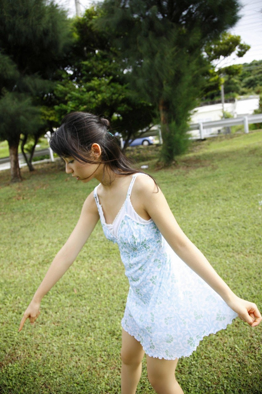 The ultimate beautiful girls angel smile explodes in Okinawa for the first time experience Rina Koike154