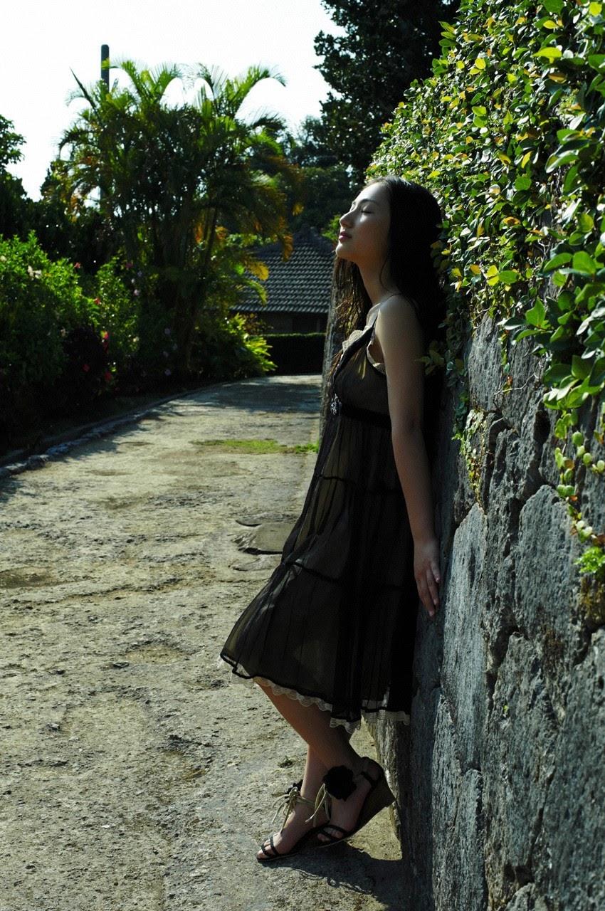 And on Kumejima the first experienceher late summer vacation begins! Saaya082