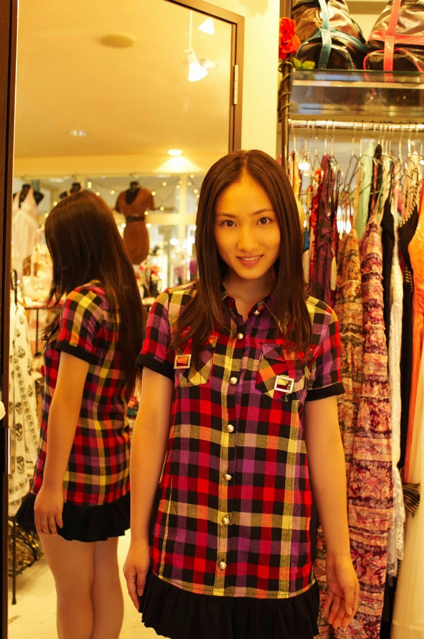 And on Kumejima the first experienceher late summer vacation begins! Saaya161
