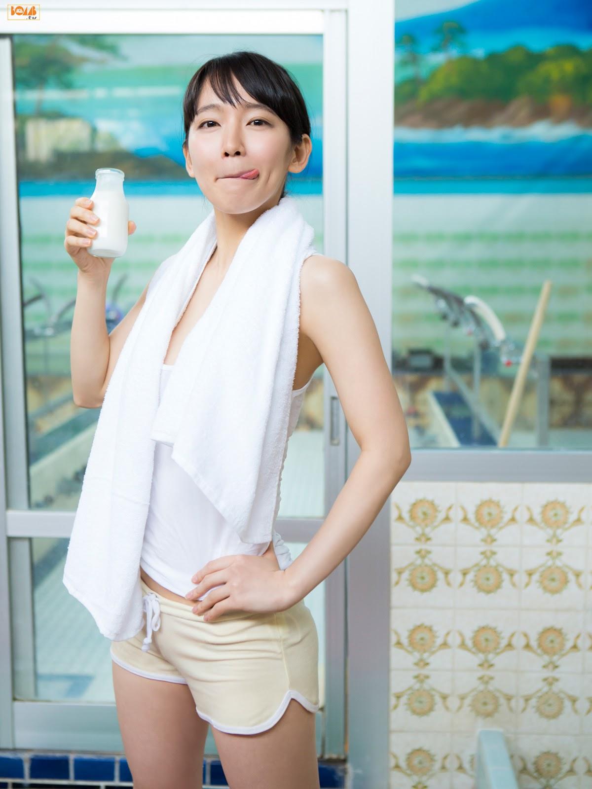 Valuable swimsuit gravure by Yoshiokari034