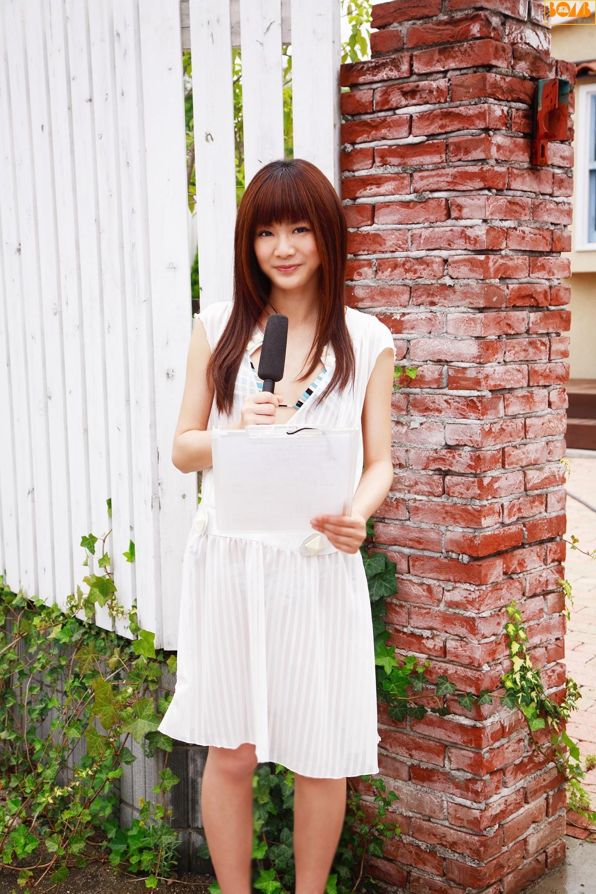 New era gravure harbor contact wet transparent sheer weather sister Rika Sato012