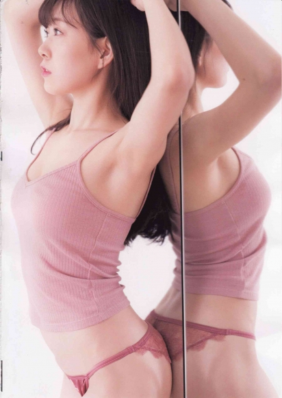 Former NMB48 Miyuki Watanabe Milky as an adult009